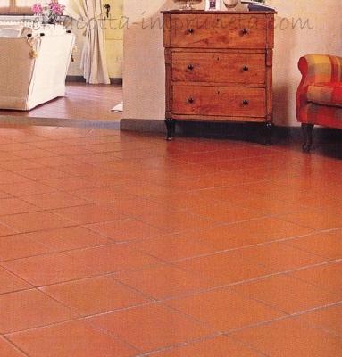 Terracotta Fliesen im Wohnbereich